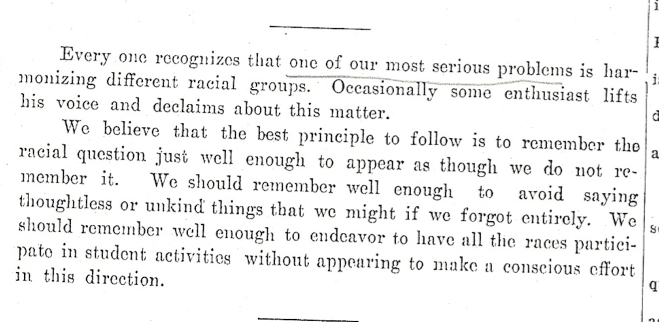 Editorial, Ka Leo, May 3, 1923