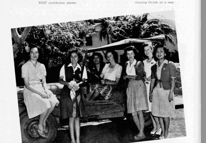 KP 1943 Dancing Coeds